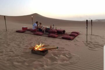 evening desert safari with bbq dinner