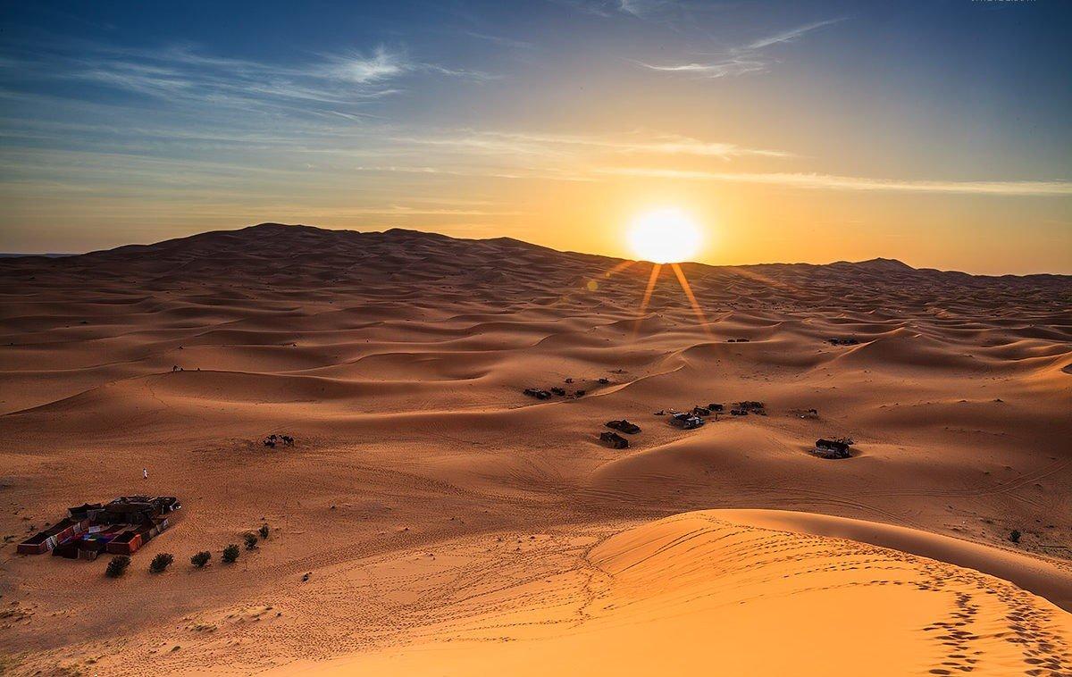 sunrise desert safari in abu dhabi