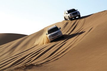 best overnight desert safari in abu dhabi