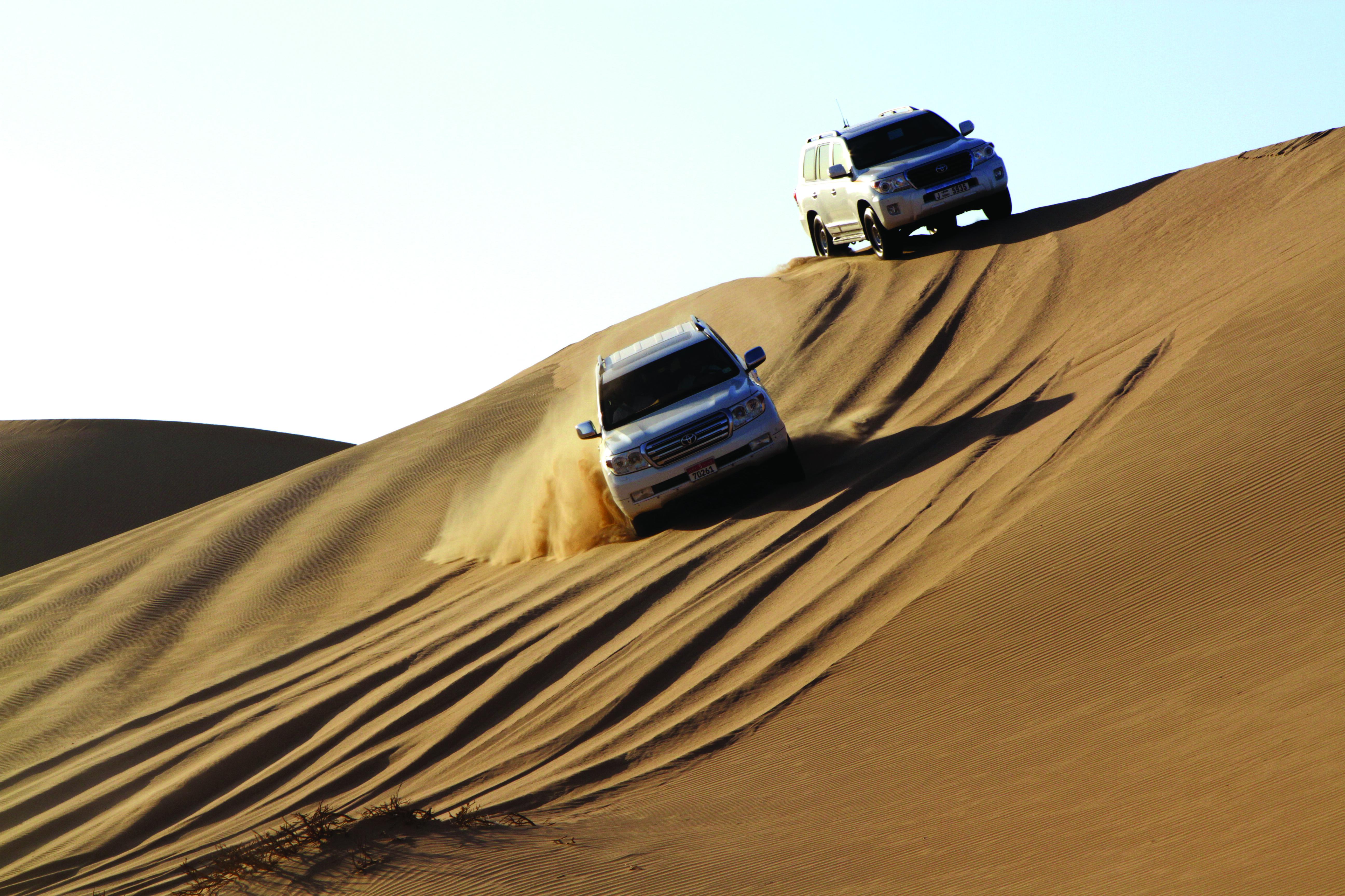 Overnight Desert Safari from Abu Dhabi