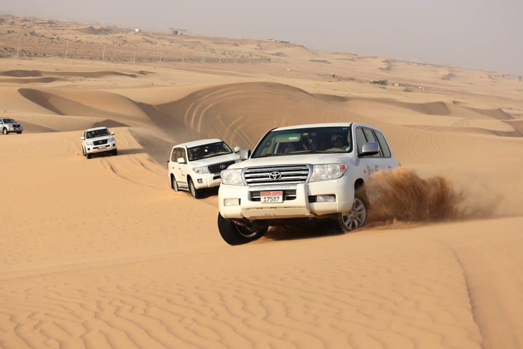 self drive desert safari abu dhabi