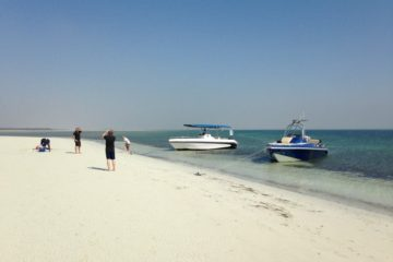 Island Beach tour in Abu Dhabi