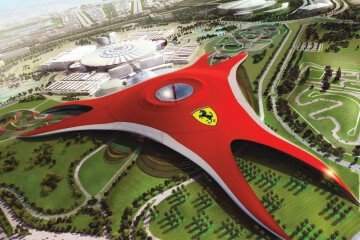 ferrari world abu dhabi tour