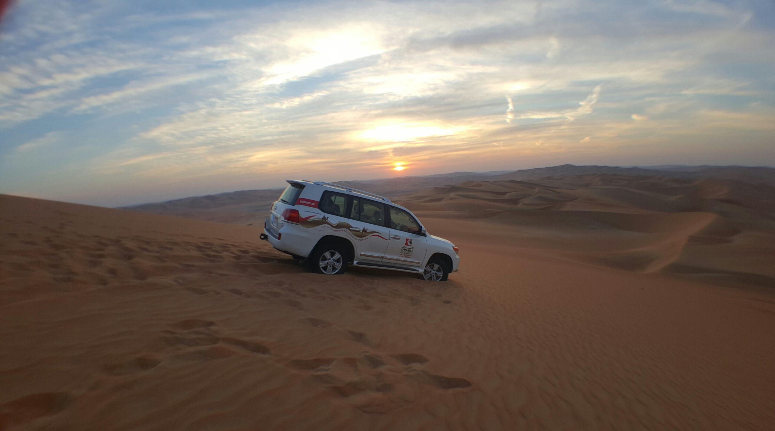 Empty Quarter Sunset Safari Abu Dhabi